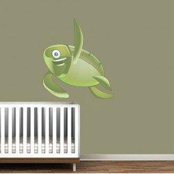 Muursticker - Interieursticker Schildpad