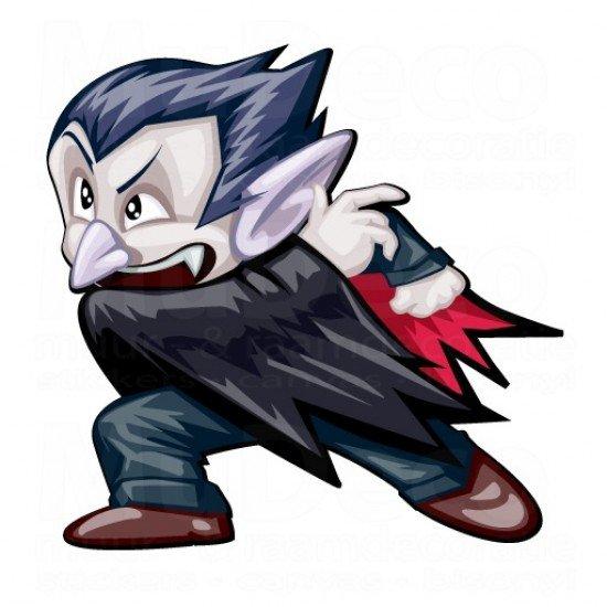 Muursticker - Halloween sticker - Vampier / Vampire