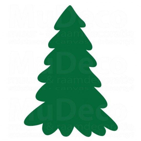 Muursticker - Kerstboom 2