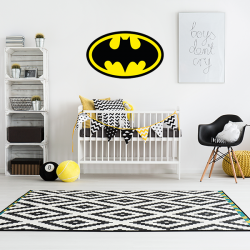 Muursticker - Interieursticker Batman kleur
