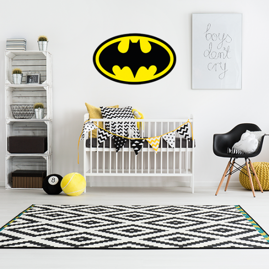Muursticker - Interieursticker Batman kleur