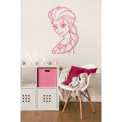 Muursticker - Interieursticker Elsa