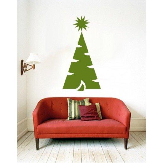 Muursticker - Interieursticker Kerst Kerstboom 3
