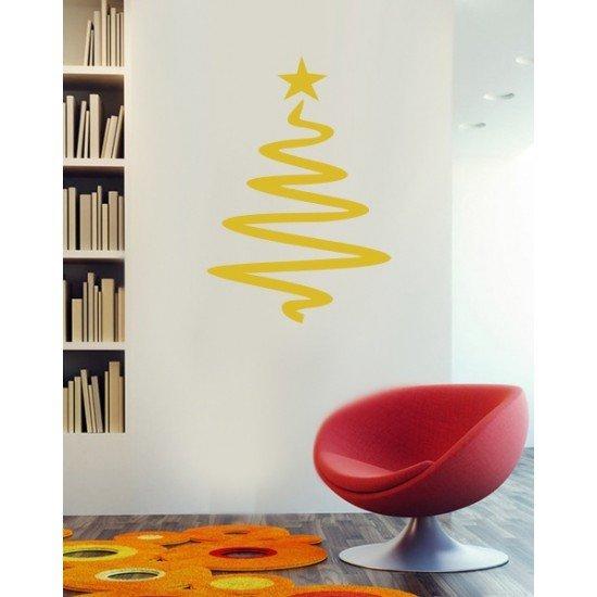 Muursticker - Interieursticker Kerst Kerstboom 6