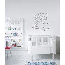 Muursticker Winnie The Pooh.Winnie The Pooh Muurstickers Topmuurstickers Co