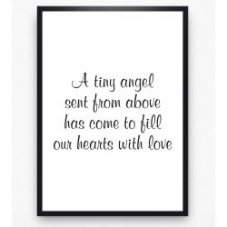 Poster - A tiny angel