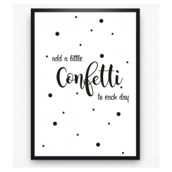 Poster - Add a little confetti