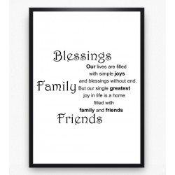 Poster - Blessings
