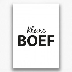 Poster - Boef