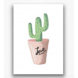 Poster - Cactus love