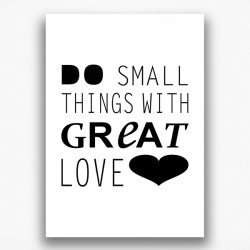 Poster - Great love