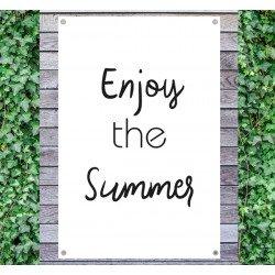 Tuindoek - Tuintekst Enjoy the summer