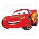 Muursticker - Cars Lightning Mcqueen