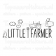 Muursticker - Little farmer