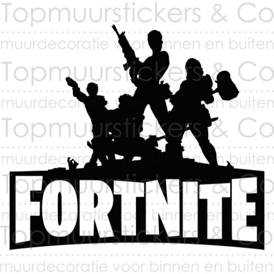 Muursticker - Fortnite Play