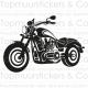 Muursticker - Motor