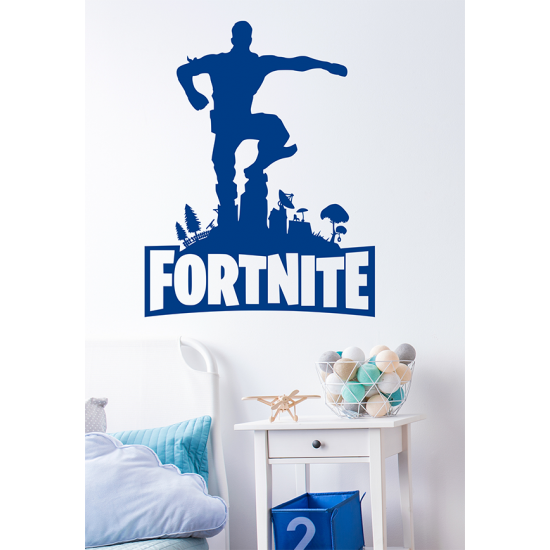 Muursticker - Fortnite winner