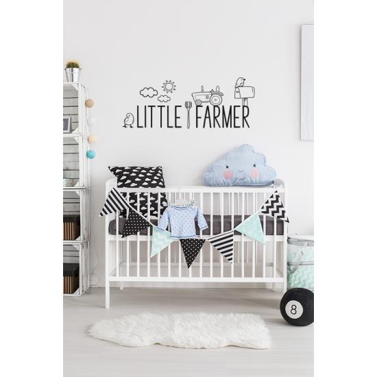 Muursticker - Little farmer