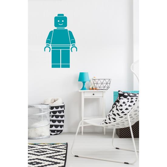 Muursticker - Lego figuur