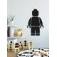 Muursticker - Lego minifiguur