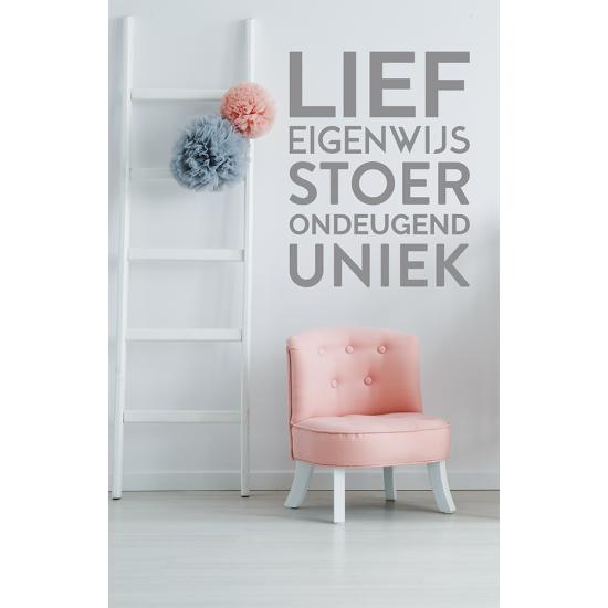 Muursticker - Lief
