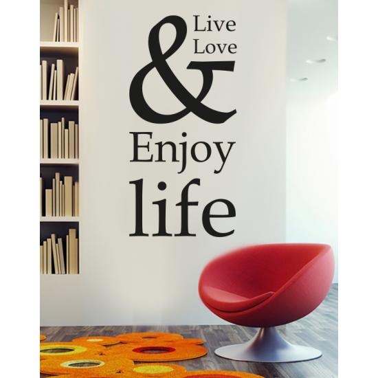 Muursticker - Enjoy life