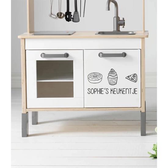 Muursticker - Keukentje
