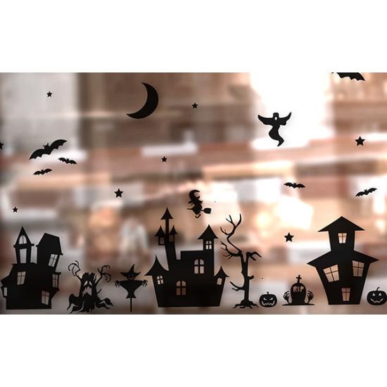 Statische raamsticker - Halloween Versie 2