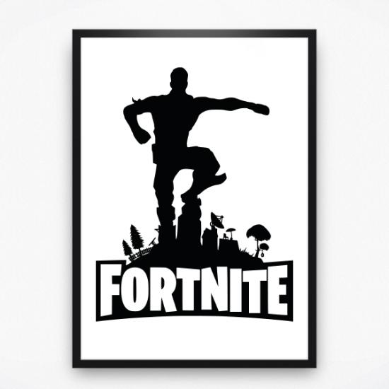 Poster - Fortnite winner