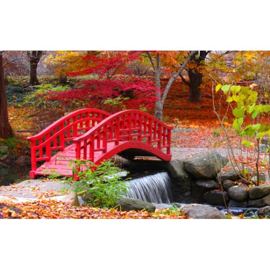 Tuindoek - Tuinposter Japanse tuin 6