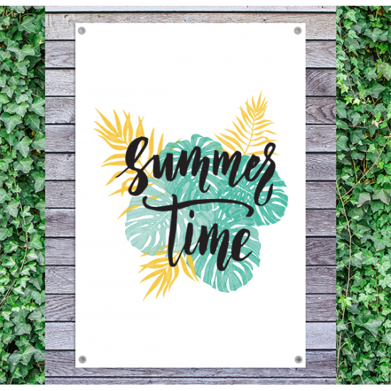 Tuindoek - Tuinposter Summertime