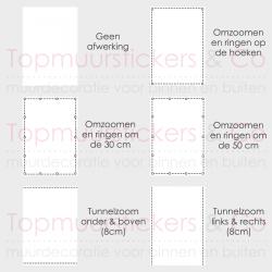 Tuindoek - Tuinposter 000135