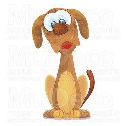 Muursticker - Interieursticker Hond