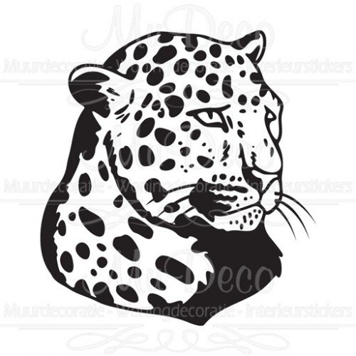 muursticker interieursticker panter top muurstickers amp co