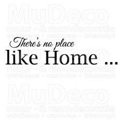 Muursticker - Muurtekst  Like home