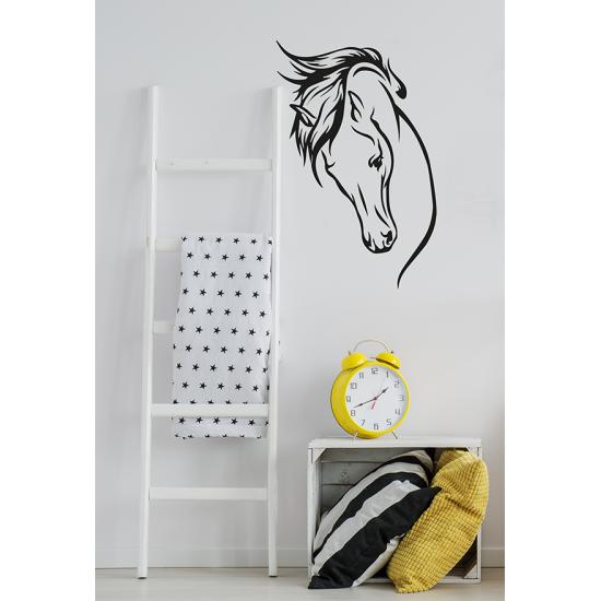 Paarden Sticker Muur.Muursticker Interieursticker Paard