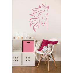 Muursticker - Interieursticker Paard manen