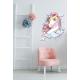 Muursticker - Interieursticker Unicorn star