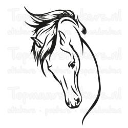 Muursticker - Interieursticker Paard