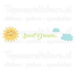 Muursticker - Interieursticker Sweet dreams
