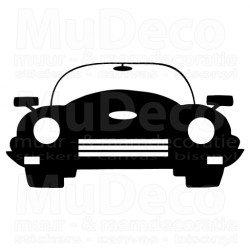 Muursticker - Interieursticker Auto 1