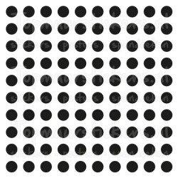 Muursticker - Interieursticker Stippen dots