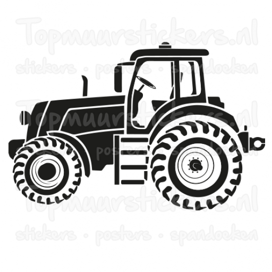 Muursticker - Traktor / Tractor