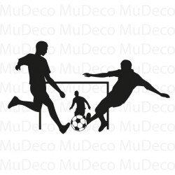 Muursticker - Interieursticker Sport Voetballen