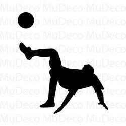 Muursticker - Interieursticker Sport Voetballer 3