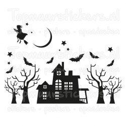 Raamsticker - Muursticker Halloween