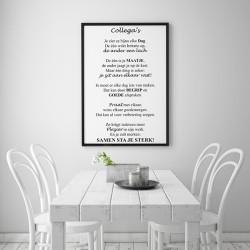 Poster - Collega's
