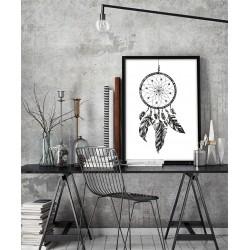 Poster - Dreamcatcher black white