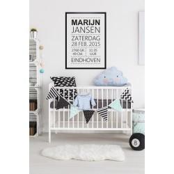 Poster - Geboorteposter